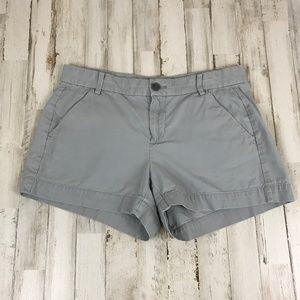 Gap Womens Shorts 2 Gray Khakis Sunkissed